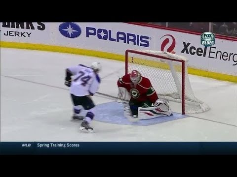 wild - Watch the shootout between the St. Louis Blues and Minnesota Wild on March 9, 2014.