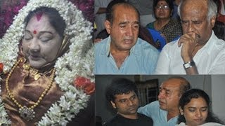 Actress | Manjula Vijayakumar | Death Ceremony | Photos