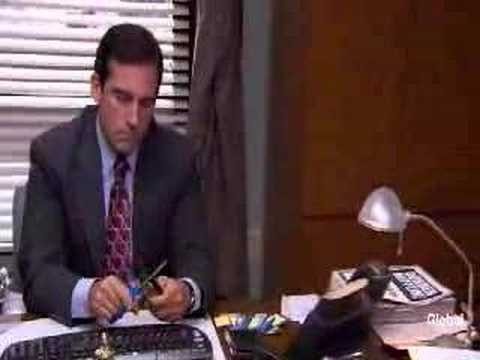 The Office – I declare bankruptcy! Michael Scott