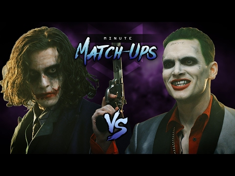 Joker (the Dark Knight) Vs Joker (suicide Squad)