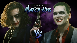 VIDEO: JOKER (The Dark Knight) Vs JOKER (Suicide Squad)