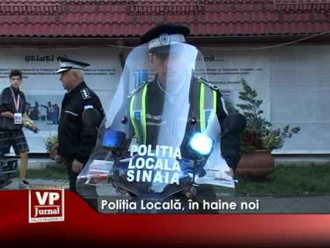 Poliţia Locală, în haine noi