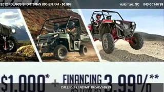 2. 2012 POLARIS SPORTSMAN 800-EFI 4X4 800 4X4 - for sale in Murrells Inlet, SC 29576