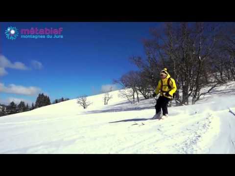 Domaine skiable de Métabief- Versant Super Longevilles