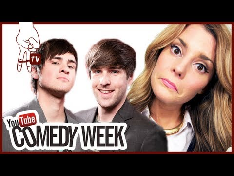Daily Grace & Smosh at YouTube Comedy Week Big Live Comedy Show Red Carpet