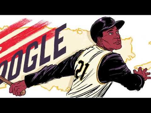 Roberto Clemente Google Doodle in U.S