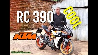 7. KTM RC 390  - 2018 - Walkaround and Detailed Technical Overview
