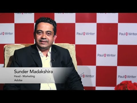 Interview with Sunder Madakshira, Head- Marketing, Adobe India