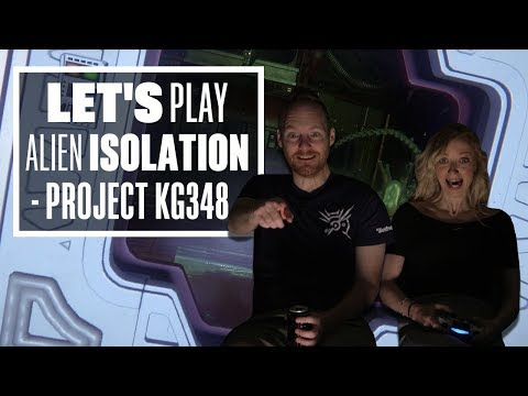 Let's Play Alien Isolation Episode 8: THE GREAT CHAIR REBELLION OF 2019