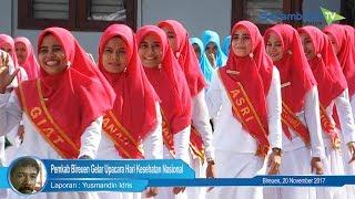 Catwalk Bidan Cantik Warnai Hari Kesehatan Nasional di Bireuen