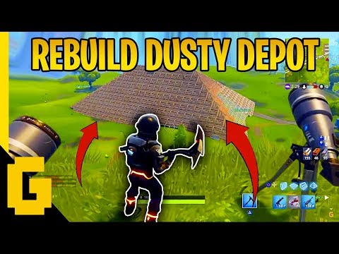 Reddit funny - DID THEY REBUILD DUSTY? - Fortnite Funny & Epic moments #6
