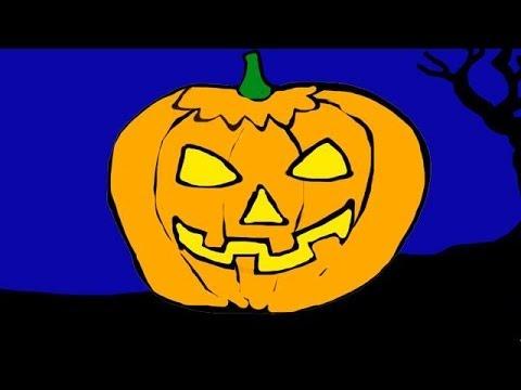 Halloween Night (Children's Halloween Song) - Little Blue Globe Band (видео)