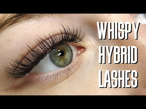 Whispy Hybrid Lash Extensions MAPPING INCLUDED