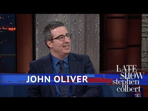 John Oliver Warns Meghan Markle What She's Getting Herself Into