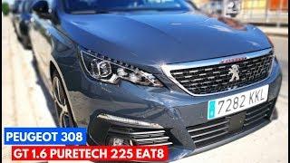 2. Probamos el Peugeot 308 GT 225 EAT8 - CAR and GAS   TestDrive   Review  Español