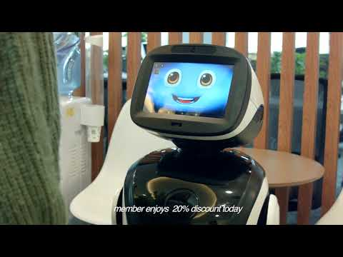 Padbot P3, robot, reception