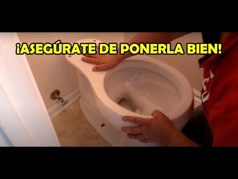 Cómo INSTALAR UNA TAZA de baño!🚽🔧