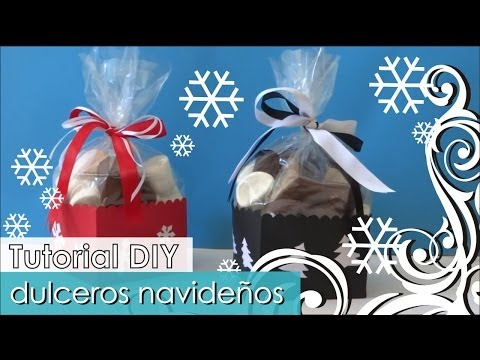 DIY - Tutorial Navideño - Dulceros originales y divertidos!
