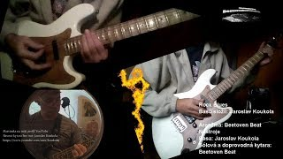 Video Guitar & Basa Improvizace Rock Blues -  E Moll