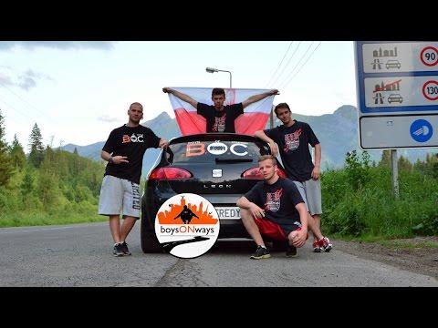 BoysOnWays - trip freerunnerov do Zakopaného