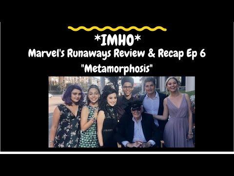 "Marvel's Runaways Episode 6 ""Metamorphosis"" Review and Recap"
