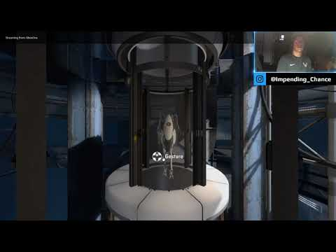 Portal 2 with the Wife!