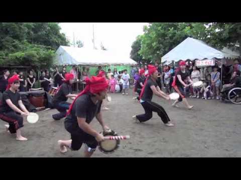 エイサー(沖縄の盆踊り): 2012年すみれ保育園 夏祭り