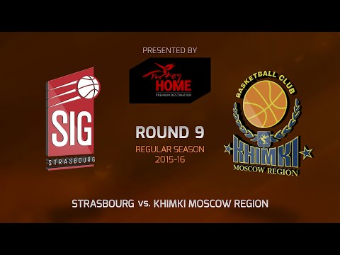 Highlights: RS Round 9, Strasbourg 69-78 Khimki Moscow Region