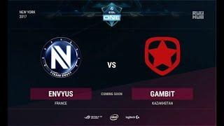 EnVyUs vs Gambit, game 1