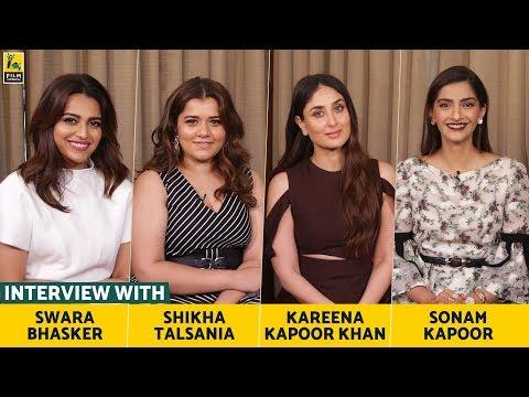 Interview with Sonam, Kareena, Swara & Shikha   Veere Di Wedding   Anupama Chopra   Film Companion