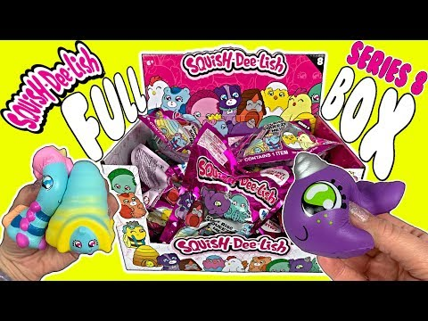 Squishy Unboxing! NEW Squish-Dee-Lish Series 8 Squishies! BFF Slow Rise Squishy Duos! Squishy Videos