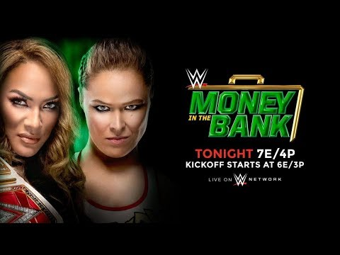 MONEY IN THE BANK PREDICTIONS (WWE 2K18)