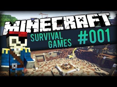 MINECRAFT Survival Games #01 - Verfolgunsjagd [DE/Full-HD] (видео)