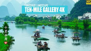 Explore YangShuo's 'Ten Mile Gallery'. GuangXi province.    With Walk East ...