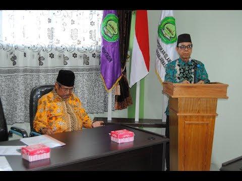 Sambutan Koordinator Kopertis XI Kalimantan pada Pelantikan Ketua STKIP Islam Sabilal Muhtadin