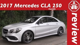 2016 Mercedes-Benz CLA 250 4MATIC Coupé Facelift (C117) - In-Depth Review, Full Test, Test Drive by Video Car Review