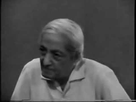 Jiddu Krishnamurti: Stillness In Movement (part 2)