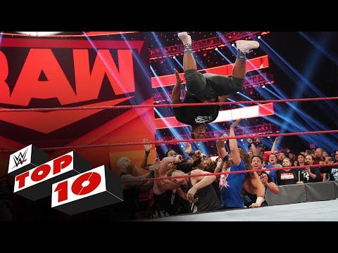 Top 10 Raw moments WWE Top 10 Nov 4 2019