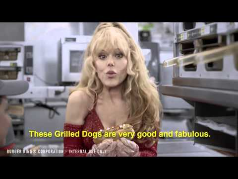 Burger King Training Video - Grilled Dogs Ft. Charo