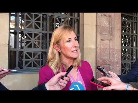 Ana Beltrán muestra su apoyo a los guardia civiles agredidos en Alsasua