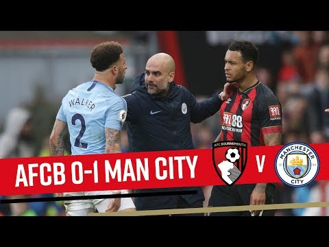 EDGED OUT BY CITY | AFC Bournemouth 0-1 Manchester City