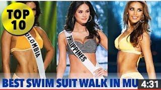 Video TOP 10 Best in Swimsuit Walk in the History of Miss Universe - SWIMSUIT - FULL HD MP3, 3GP, MP4, WEBM, AVI, FLV Juni 2018