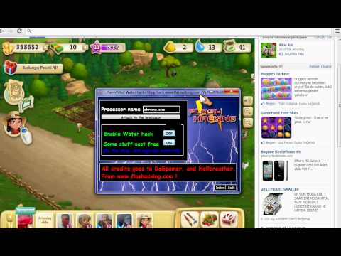 FARMVİLLE2 SU ALTIN PARA VE LEVEL HİLESİ