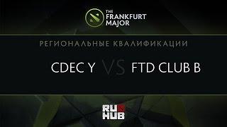 FTD.B vs CDEC.Y, game 1