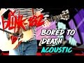 Blink 182 - Bored To Death Acoustic Version CALIFORNIA DELUXE Guitar Cover
