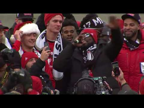 Video: Jozy Altidore Delivers EPIC MLS Cup Parade Speech!