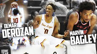 Highlights from todays game at the Drew League featuring Demar Derozan, Marvin Bagley, Norman Powell, Montrezl Harrell & Bobby Brown