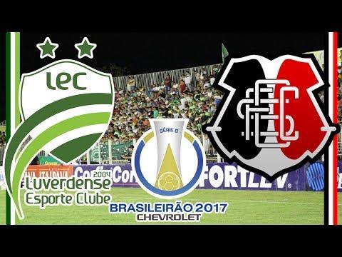 Luverdense 2 x 2 Santa Cruz - (11/07/2017) | 13ª Rodada do Brasileirão Série B 2004 [PES 2004]
