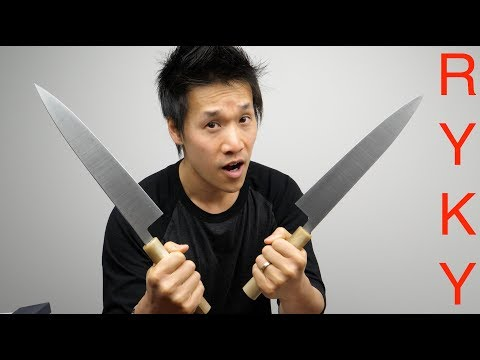 Knife enthusiast gets sent a very rare knife and reacts accordingly