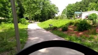 7. Slow golf cart help.